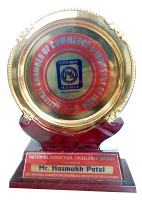 Awards from National Chamber of Commerce & Industries of India